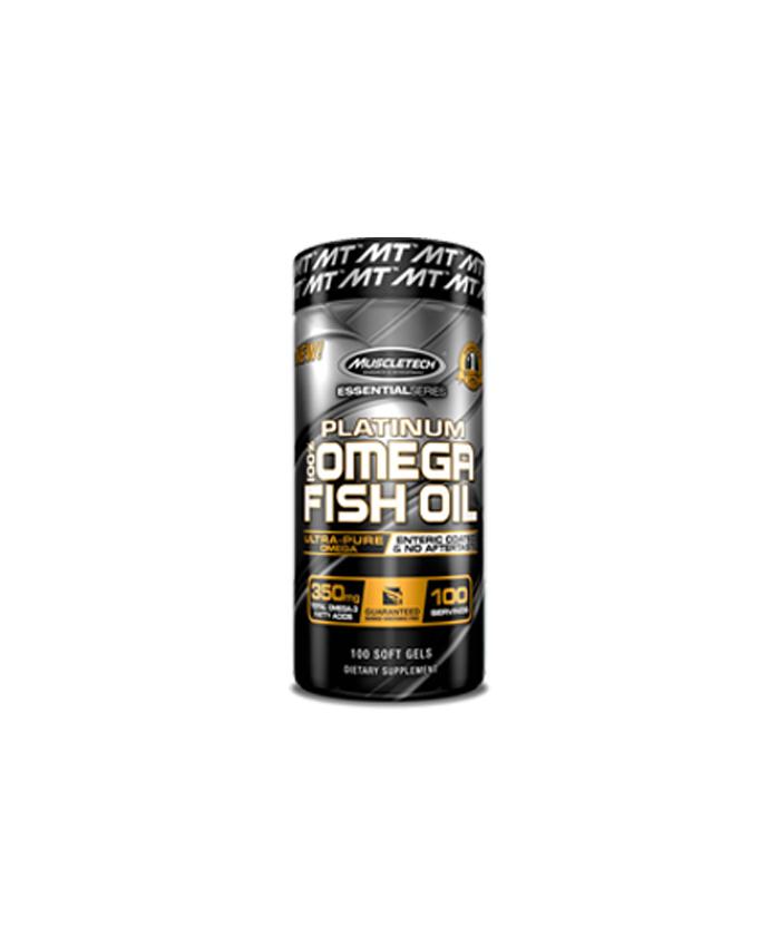 Muscletech Platinum Fish Oil 100 softgel