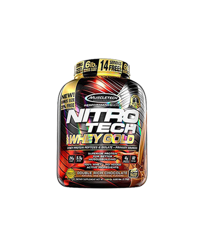 Nitrotetech Performance Whey Gold